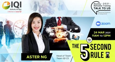 Talk to Us - The 5 Second Rule by Aster Ng