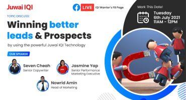 Winning Better Leads & Prospects by Using the Powerful Juwai IQI Technology